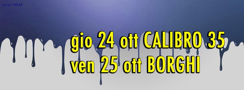 calibro 35 , matteo borghi , off , modena