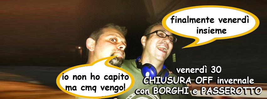 OFF Modena, passerotto, Borghi, disco, divertimento, ballare