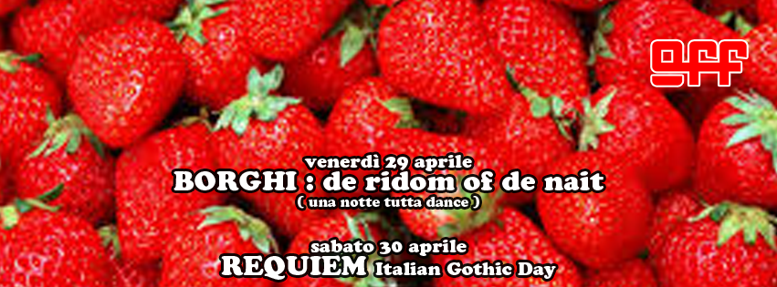 off modena borghi dance night requiem italian gothic day