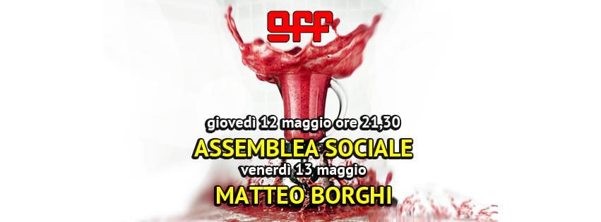 OFF Modena maggio borghi riunione sociale