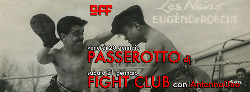OFF Modena copertina passerotto fight club antennauno