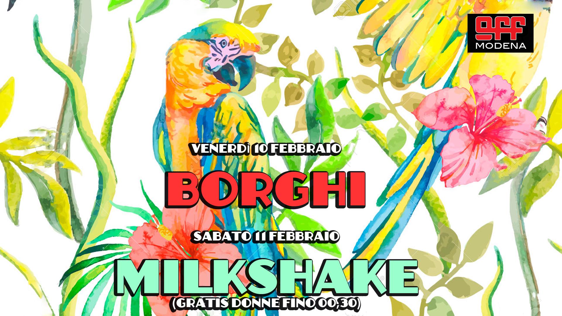 OFF Modena Borghi Milkshake bizzarri hiphop reggae