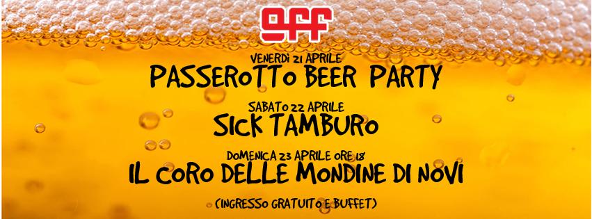 OFF Modena Passerotto Sick Tamburo coro mondine di Novi