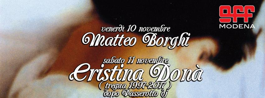 OFF Modena borghi cristina dona trefura 1997 2017 stelle buone
