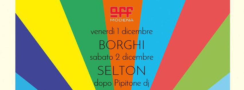 OFF Modena borghi + selton pipitone