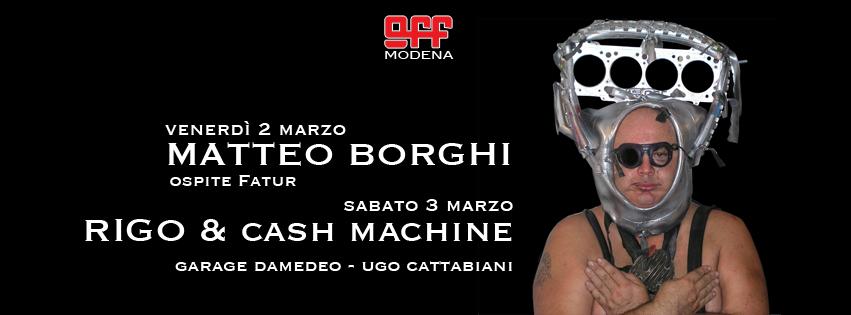 OFF Modena borghi fatur rigo righetti garage damedeo