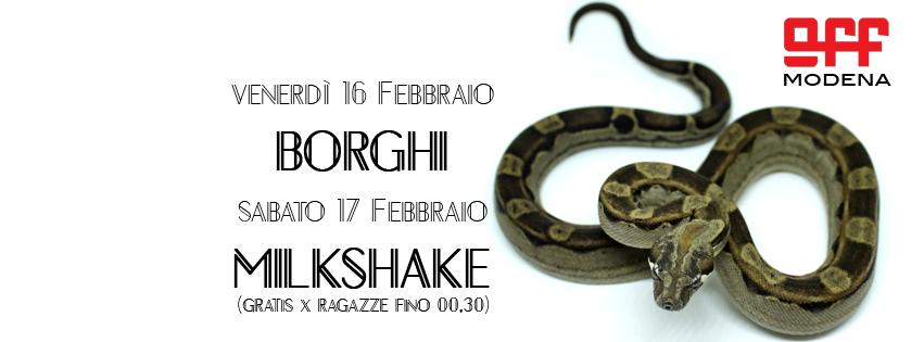 OFF Modena borghi milkshake big boa