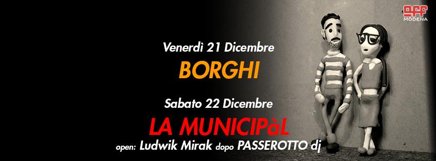 OFF Modena >Borghi La Municipal