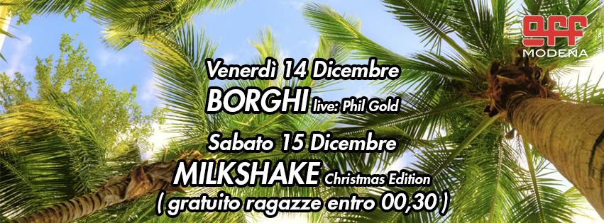 Off modena Borghi Phil gold milkshake bizzarri
