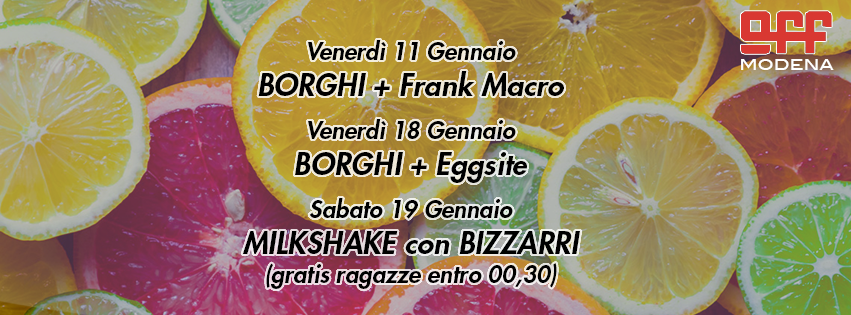 OFF Modena Borghi frank macro eggsite