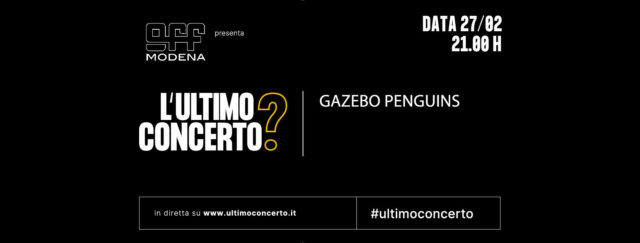 L'ULTIMO CONCERTO? GAZEBO PENGUINS